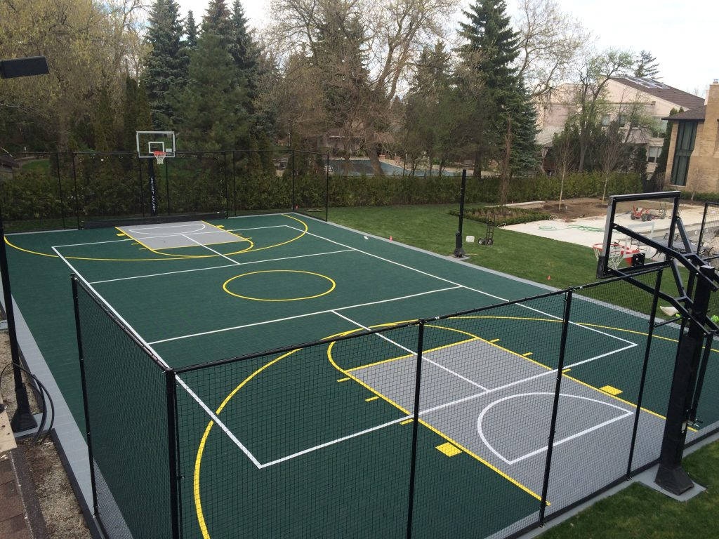 Residential Sport Court Ontario